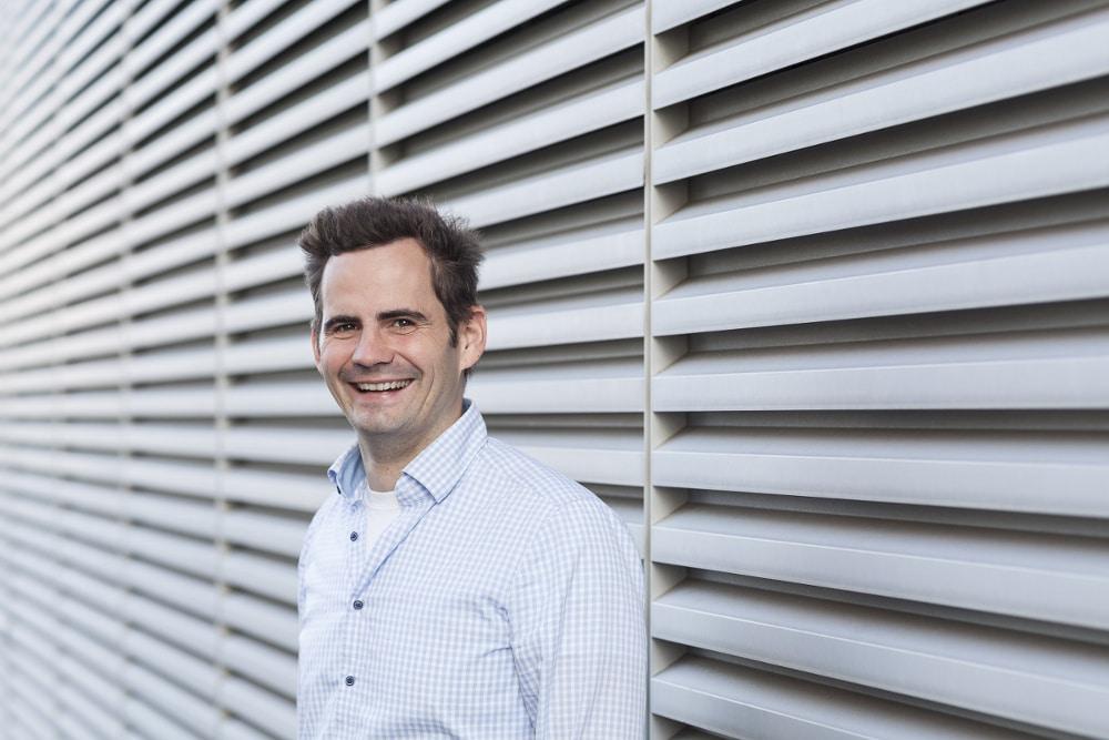 Robert Jänisch, CEO von IOX