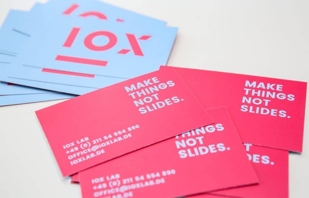 IOX corporate design