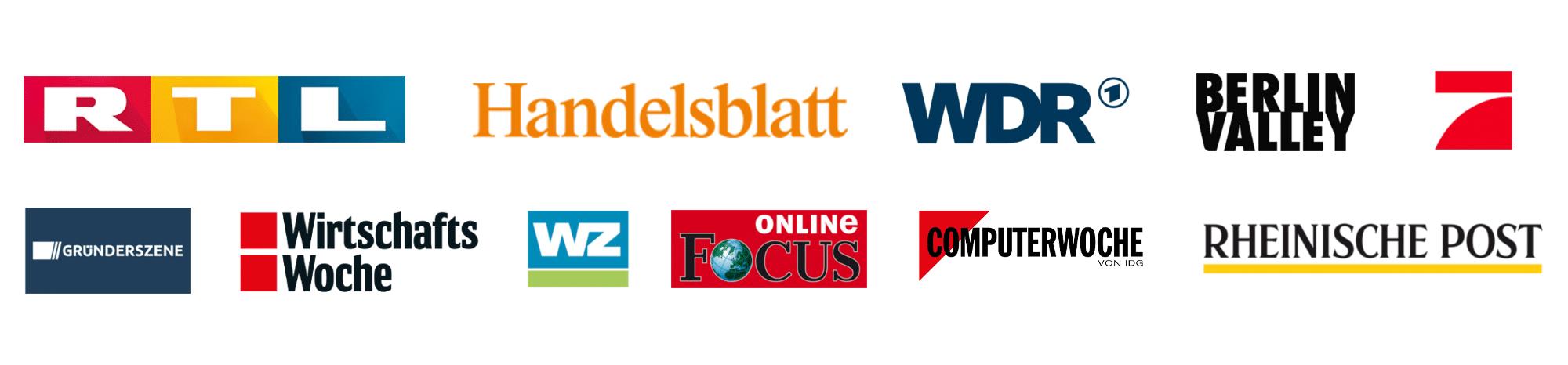 Presse Logos - IOX bekannt aus