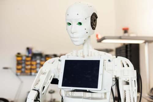 IOX-Roboter Bob aus dem 3D-Drucker