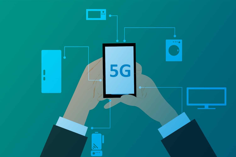 Zum Artikel 5G für das Internet der Dinge 2019: Darstellung eines 5G Netzwerks