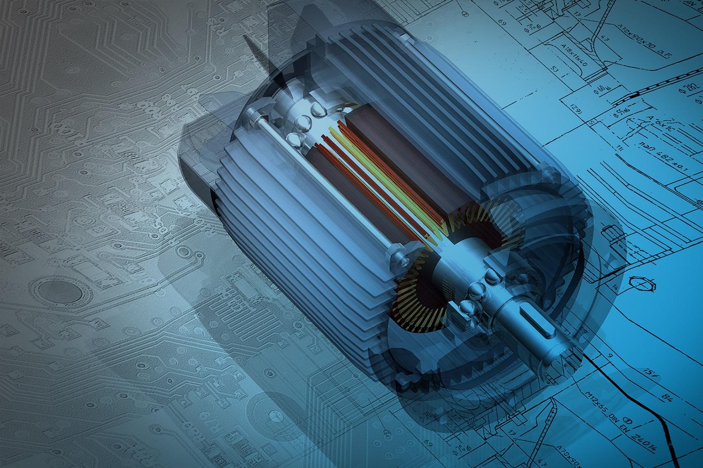 Zum Artikel Digital Twin: Motor 3D