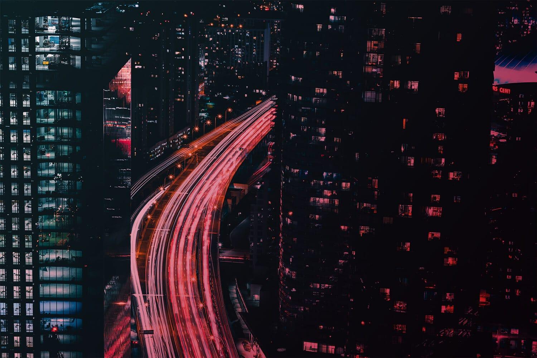 Zum Artikel IoT Trends 2020: Futuristische Stadt