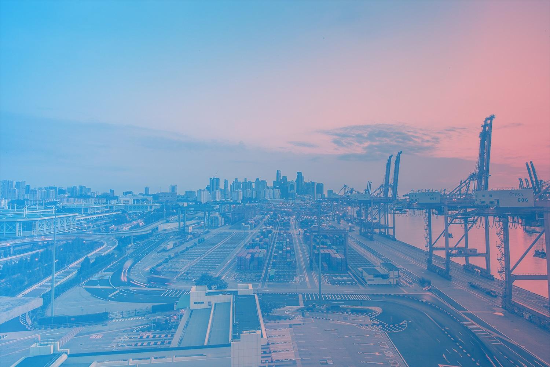 """Zum Beitrag """"Logistik neu denken in Zeiten der Digitalisierung"""": Hafen-Logistik"""