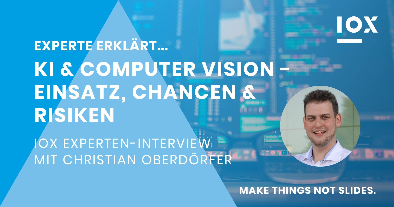 Zum Artikel KI und Computer Vision: Titelbild