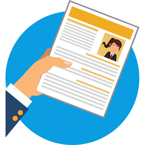 Karriere . 1 Einreichen der Bewerbungsunterlagen
