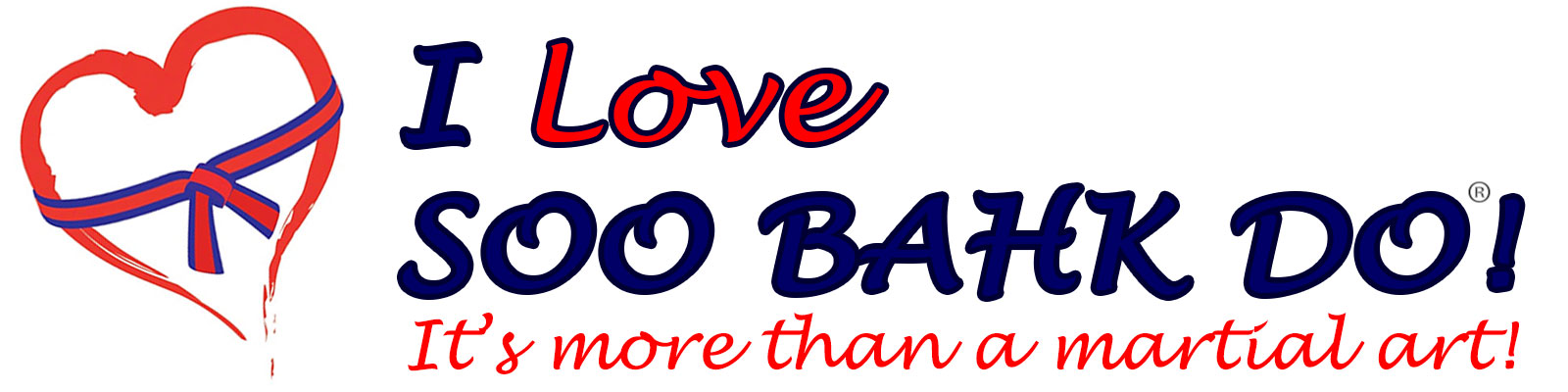I Love Soo Bahk Do!