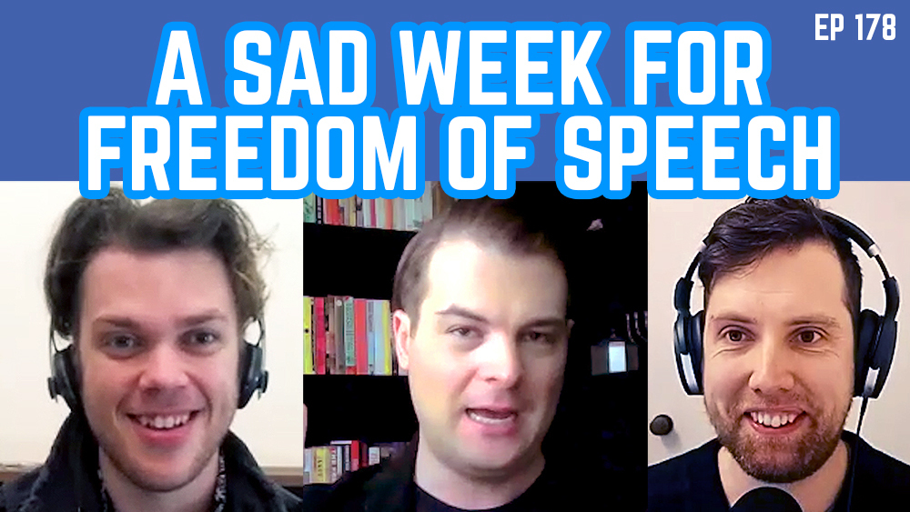 The Young IPA Podcast 178 – A Sad Week For Freedom Of Speech