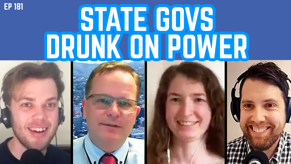 The Young IPA Podcast Ep 181: State Govs Drunk On Power