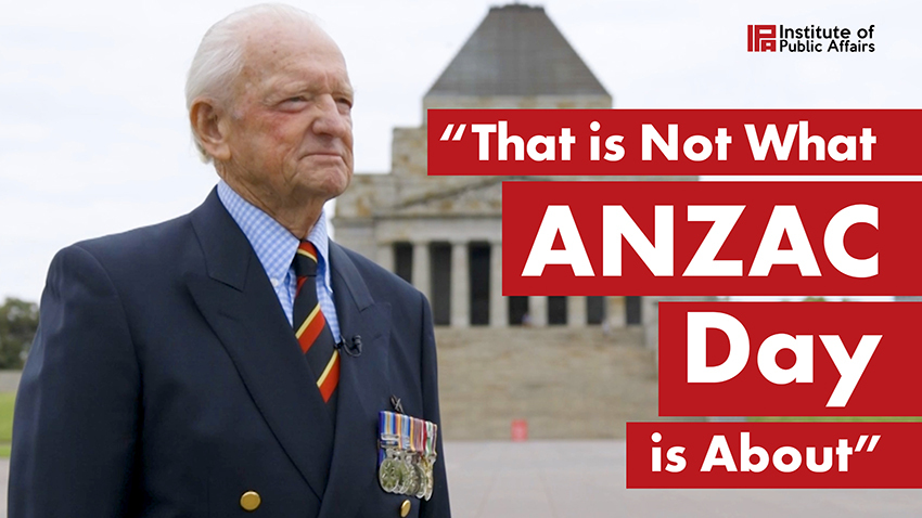 That is Not What Anzac Day is About