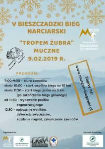 BIEG NARCIARSKI TROPEM ŻUBRA – 9.02.2019r.