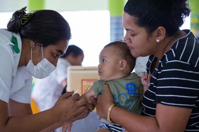 Measles Samoa