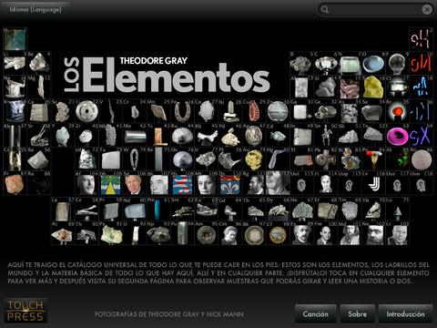 Los elementos tabla peridica de los elementos qumicos interactiva urtaz Choice Image
