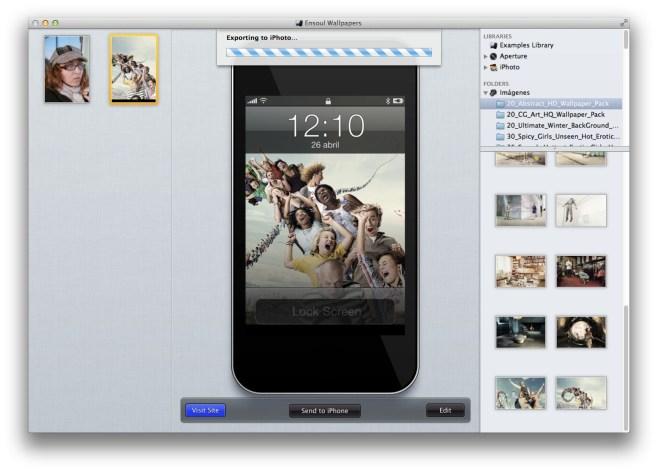 Ensoul Wallpapers realiza tus propios fondos de pantalla para tu iPhone