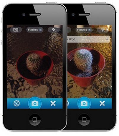 External Flash, aprovecha el flash de los dispositivos de tus amigos
