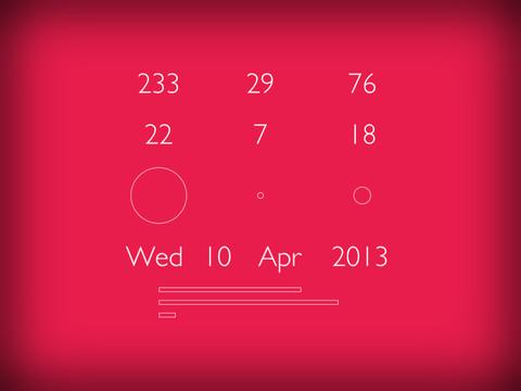 Coloc, tu nuevo reloj minimalista para el iPad