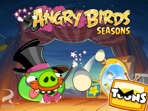 36 nuevos niveles para Angry Birds Seasons HD