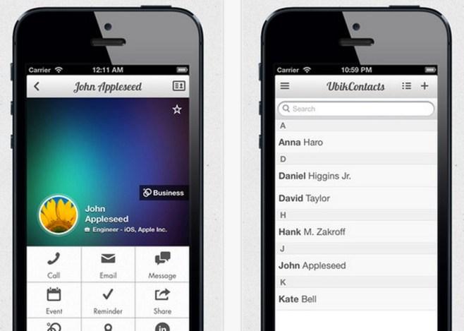UbikContacts, hoy disponible en la App Store con un 75% de descuento