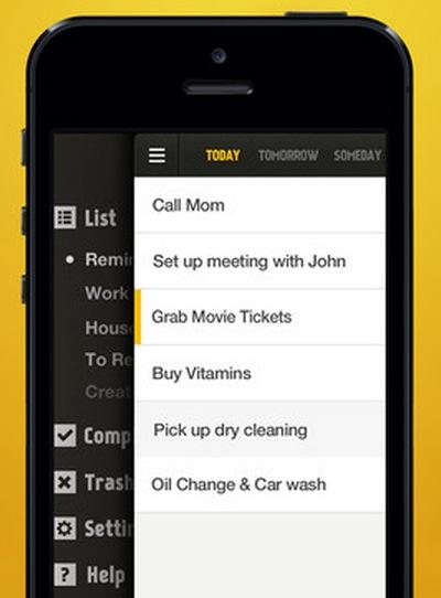 Lista de tareas y recordatorios para tu dispositivo móvil
