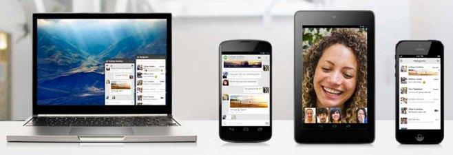 Hangouts, la nueva herramienta de mensajería de Google
