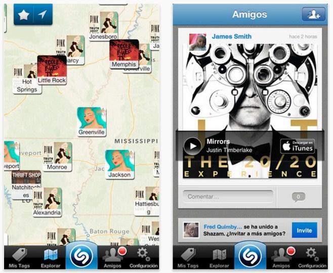 Shazam se actualiza con nuevas herramientas