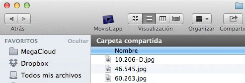 Truco para el Finder, en Mac OS X