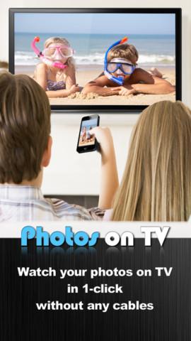 Photos on TV, visualiza las fotografías de tu iPhone o iPad en tu televisión