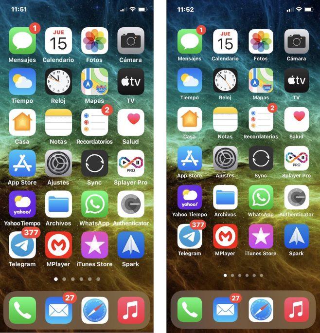 Agrandar iconos y elementos de la interfaz de iOS, en iPhone e iPad
