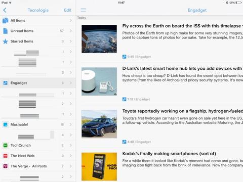 Para leer noticias desde tu iPhone y iPad llega Newsify con su completa solución