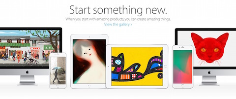 "Apple lanza la campaña ""Start something new"""