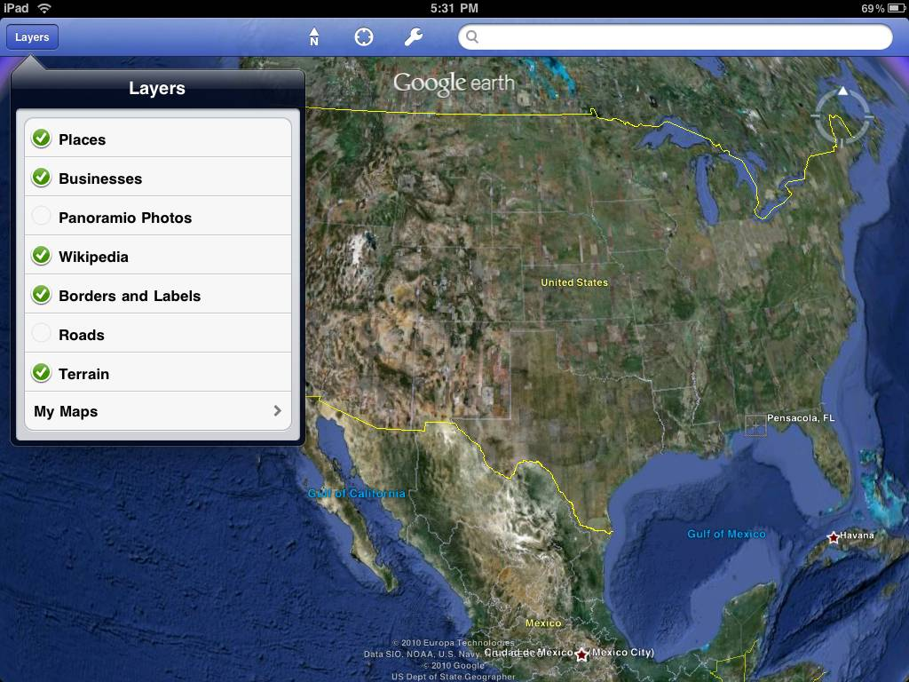 Google earth app for the ipad most people are familiar with google earth gumiabroncs Image collections