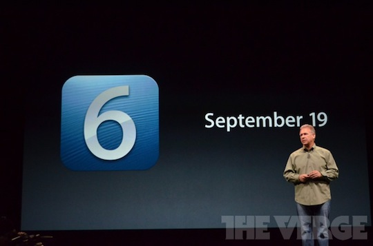 iOS release date