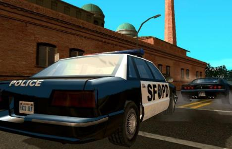 GTA san andreas cops