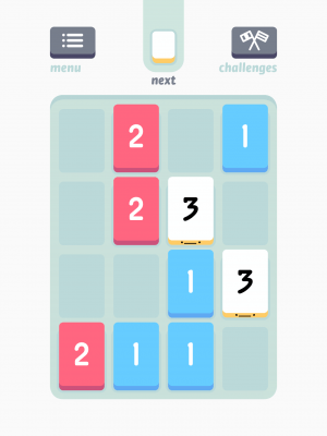 Threes early game