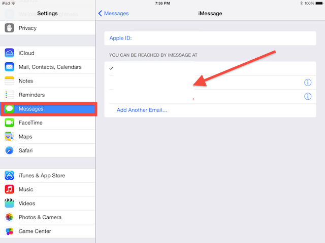 you should be able to see your iPhone number here in your iMessage settings