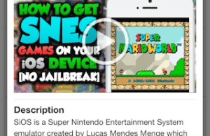 How to Install SNES Emulator on Your iPhone or iPad without Jailbreaking