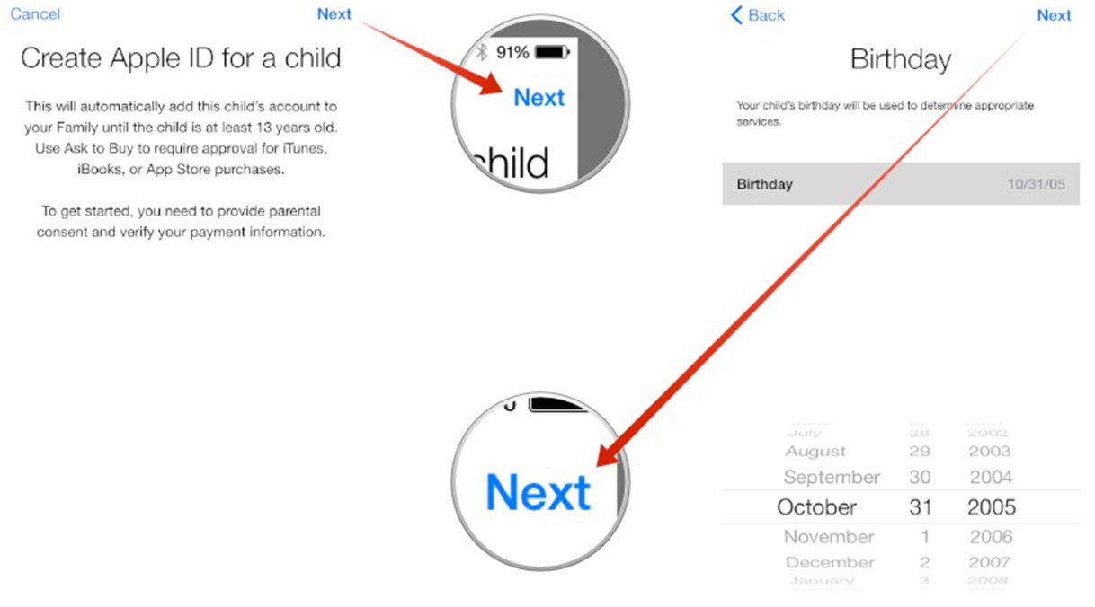 How to Create a Family Sharing Apple ID for Kids on Your