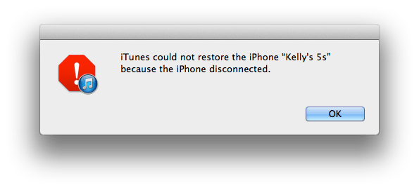 itunes_not_restore_iphone_disconnected