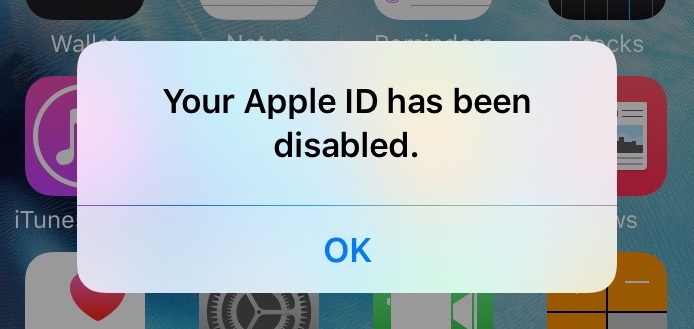 wrong apple id on iphone how to fix your apple id has been disabled for iphone 6 2630