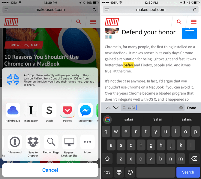 10 Safari App Tips and Tricks for iPhone 7/7 Plus and iPad Pro 2