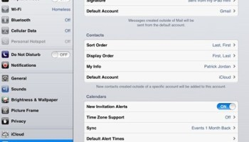 How to unify your Contacts list on your iPad   iPad Insight