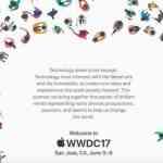 Apple、「WWDC 2017」をサンノゼで2017年6月5日〜9日に開催すると発表!