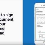 Apple Support、PDFにサインをしてメールで送付する方法を説明する動画「How to sign a document on your iPhone or iPad」を公開