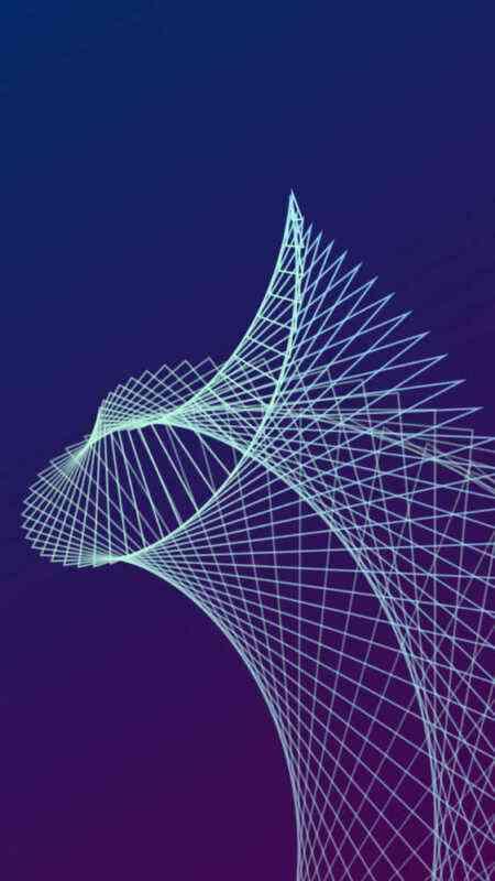 カラフルな幾何学模様の壁紙 4枚 噂のappleフリークス