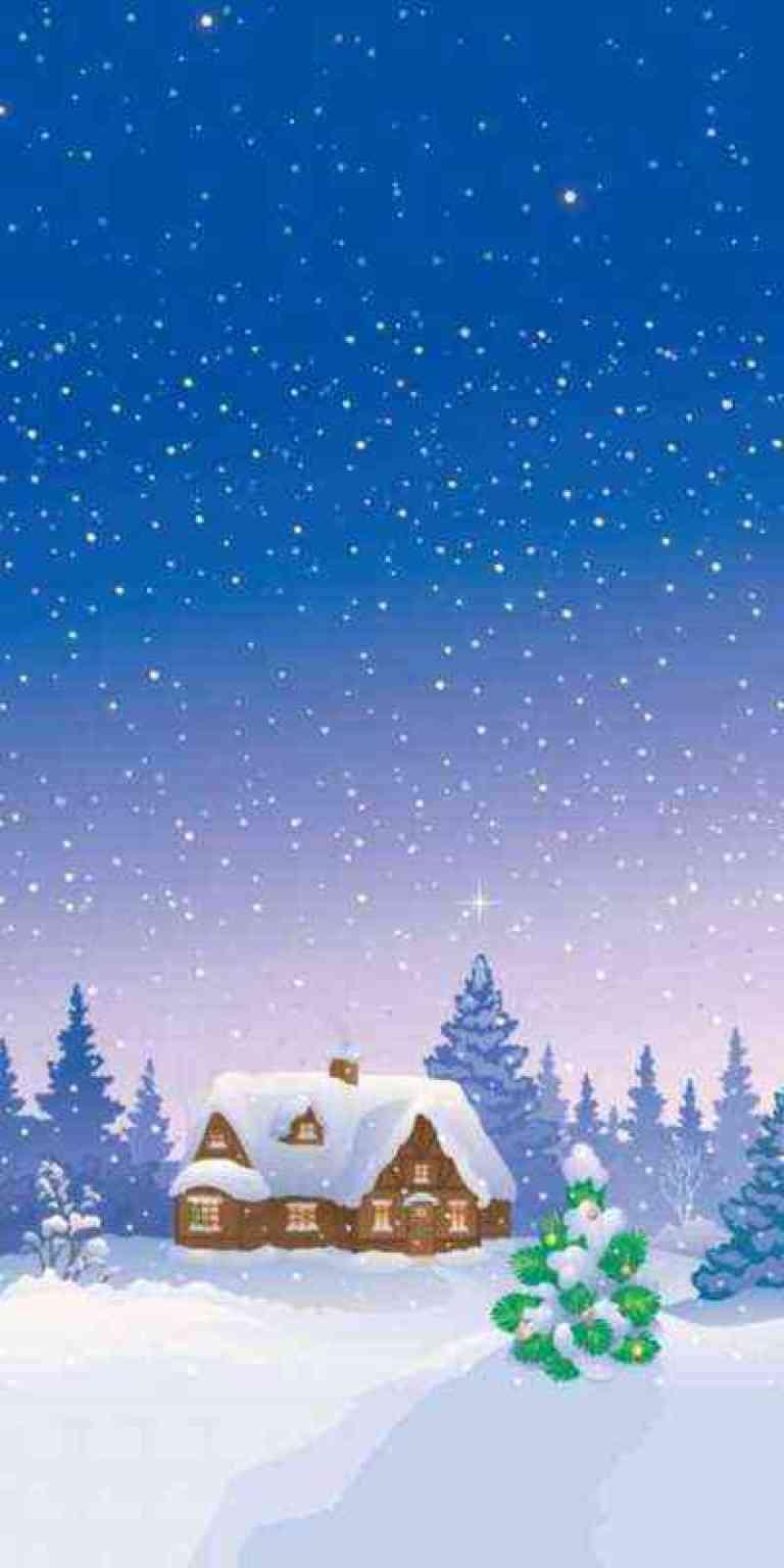2019年の最高 冬 Iphone 壁紙 クールハウスの写真