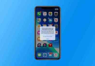 iOS 13の新機能、サブスクリプション継続中のアプリを削除すると警告を表示!