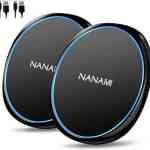 【Amazon タイムセール】モバイル林檎セレクト 「「2台セット」NANAMI ワイヤレス充電器 Qi急速 置くだけ充電 パッド」など全10品(2020年6月4日)①