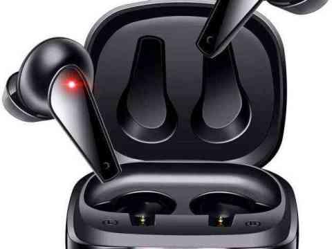 【ワイヤレス充電&最新Bluetooth5.1】 Bluetooth イヤホン 自動ペアリング