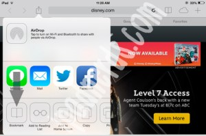 Safari iOS7 Adding, Removing, Setting Up Bookmarks