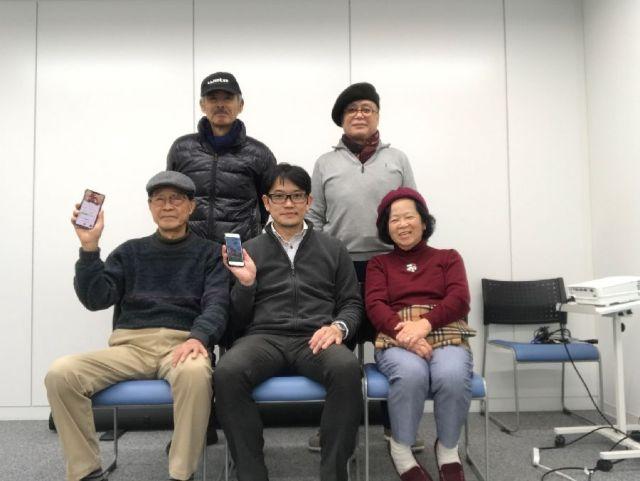 iPadサロンを12月16日(土)に行いました。